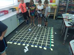 """Joseph Parthemore on Twitter: """"Designing coordinate grids on the floor and…"""