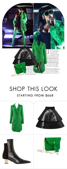 """""""Style Icon"""" by fl4u ❤ liked on Polyvore featuring Versace, Emilio Pucci and FAUSTO PUGLISI"""