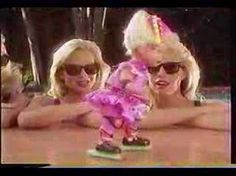 A 1992 commercial for the Baby Rollerblade toy, a doll with real working rollerblades.it's the This is just another toy ad that insults the viewer's . Spice Girls Dolls, Girl Dolls, 90s Childhood, Childhood Memories, Childrens Dolls, 90s Toys, What The World, American Girl, Nostalgia
