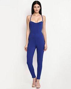 ,blue_jumpsuit ,figgure_hugging ,sleveless ,nude_strappy_heels  http://www.stalkbuylove.com/eves-jumpsuit-122312-SBLPR.html