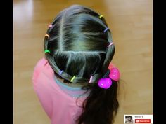 How to: French Rope Twist | Little Girl Hairstyle | Brown Haired Bliss - YouTube