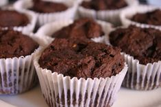 Delighted Momma: chocolate avocado muffins