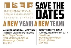 SAVE THE DATE:  ANNUAL GENERAL MEETING is coming up for all MEMBERS! September 24th - Starts at 6:30pm and will run to 9:30pm!    FUNDRAISER GALA will take place on November 5th at the gorgeous The Grand Luxe Event Boutique! Stay tuned for more information coming soon!