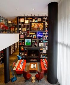 "This citizenM by the Dutch design hotel chain offers all the facilities and style it is known for. Rooms come with a rain shower, free Wi-Fi and movies and a ""MoodPad"" to change the lighting and ambiance. The rooftop bar overlooks the Capitol. Washington Dc Capitol, Rooftop Bar, Rain Shower, Liquor Cabinet, Design Hotel, Wi Fi, Dutch, Rooms, Change"