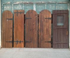 Antique Doors, hinged or used as fence panels, would make a ...