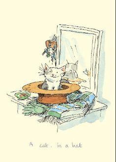 A Cat in a Hat by Anita Jeram