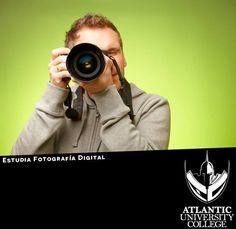 ¿Sientes que naciste para ser parte del mundo de la fotografía? Entonces haz de la fotografía una profesión lucrativa para ti. En AUC te ofrecemos un Bachillerato en Diseño Gráfico Digital con Concentración en Fotografía Digital y una Maestría en Fotografía Digital para que seas #1 en la industria fotográfica. Para más información comunícate al 787-720-1022 o escríbenos un email a: admisiones@atlanticu.edu ¡Matricúlate ya! #SéUnGladiador