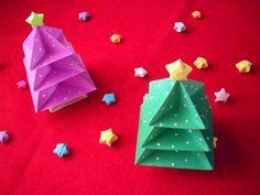 Holaaaaa :) En este ESPECIAL NAVIDEÑO vamos a hacer un hermosisimo pinito navideño, utilizando la técnica origami. Es super sencillo de hacer y es una excele...
