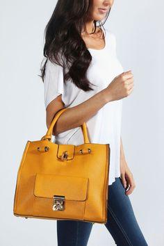 Maria Pocket Front Structured Day Bag