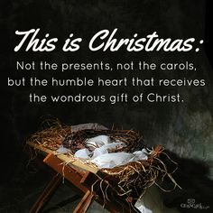 Yes, It's that simple. Let us celebrate Jesus Christ The King ! Christmas Blessings, Noel Christmas, Christmas Greetings, Christmas And New Year, All Things Christmas, Merry Christmas Jesus, Christmas Sayings, Christian Christmas, Christmas Nativity