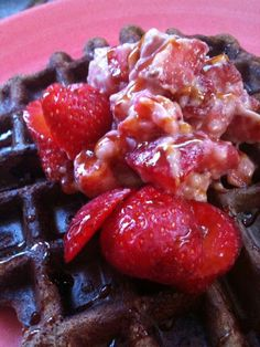 Just can't get enough: Waffles -- Paleo, high protein; couple of small tweaks to make this allergen friendly in our home