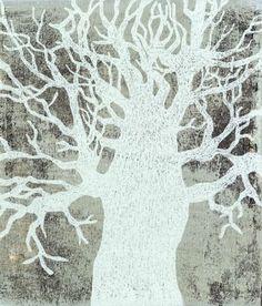 Piia Lehti: Helmikuu / February, 2013 Tree Of Life, Artsy Fartsy, Winter, Moose Art, Art Prints, Black And White, Drawings, Illustration, Pictures