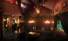 Neo Noir-inspired interior