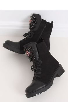 Stiefeletten ID 146816 Inello Mode Online, Timberland Boots, Combat Boots, Winter, Shoes, Black, Products, Fashion, Winter Time