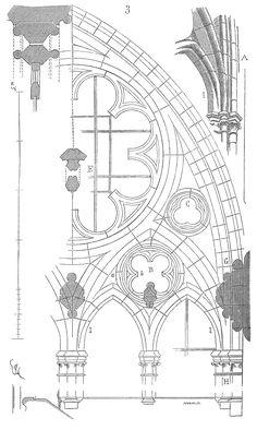 Meneaux fenetre cathedrale Amiens 3