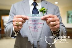 Best man holding ring for groom  Greensboro NC www.simplysouthernstudio.com