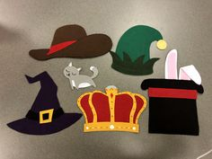 Fun cat/hat hiding game for any time of the year! Felt Stories, Stories For Kids, Halloween Fashion, Halloween Cat, Flannel Board Stories, Flannel Boards, Baby Storytime, Pete The Cats, Flannel Friday