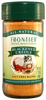 dFrontier Natural Products Blackened Creole Salt- Free Blend