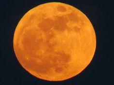 Super Moon over Cornwall, Ontario.