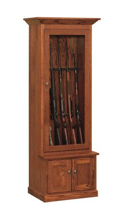 Amish Mission Gun Cabinet