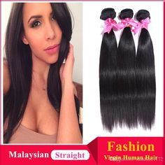 6a Malaysian Hair Straight Weaves 100g/Pc Unprocessed Human Virgn Hair Malaysian Indian Straight Hair Bundles Hair Extension Wefts Uk Weft Hair Extensions
