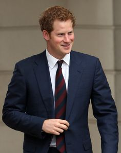 Prince Harry arriving at the help for Heroes Tedworth House recovery centre for the grand opening in Tidworth, England 20 May 2013