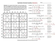 dividing polynomials long and synthetic division worksheet answers moreover  as well  moreover Synthetic Division    from Wolfram MathWorld moreover Dividing Polynomials Synthetic Division Worksheet Worksheets for all further  likewise Long Division Of Polynomials Kuta   PDF also KateHo » Math Division Questions And Answers Bestshopping also  additionally Alge 2 Synthetic Division Worksheet besides Synthetic Division Color Worksheet by Aric Thomas   TpT as well Division Worksheets With Answers Medium To Large Size Of further Printable Long Division Worksheets With Remainders Polynomials additionally  together with  likewise . on synthetic division worksheet with answers