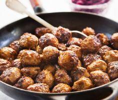 Recept: Köttbullar (Swedish meatballs)