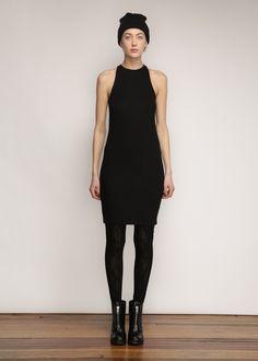 Totokaelo - Acne Studios Nadi Dress (Black)