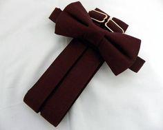 Ring Bearer Suspenders, Groomsmen Suspenders, Suspenders For Boys, Wedding Suspenders, Fall Groomsmen Attire, Groom And Groomsmen, Popular Wedding Colors, Fall Wedding Colors, Burgundy Bow Tie