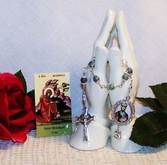 NEW Unbreakable Chaplet of St. Melangell  Patron by foodforthesoul, $24.95