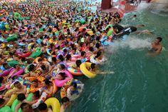 Divertissement: Voici le parc aquatique le plus fréquenté du monde, en Chine naturellement - Frawsy