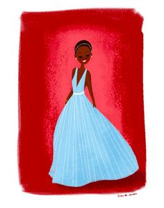 28 Absolutely Delightful Pieces Of Fan Art Inspired By Lupita Nyong'o