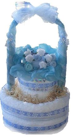 UNIQUE TOWEL CAKE IDEAS | towel blanket cakes keep the same look and style of the nappy cake ...