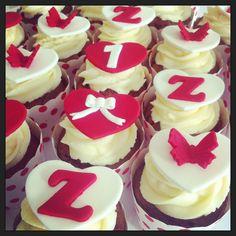 Zoe's 1st Birthday Cupcakes.