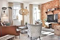 Projekty,  Salon zaprojektowane przez Karin Armbrust - Home Staging