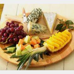 Appealing, simple platter idea