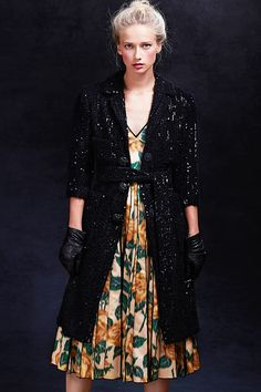 #MarcJacobs' dark Victorian glamour. #SaksStyle