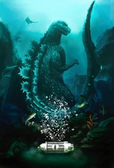 Godzilla and the Oxygen Destroyer