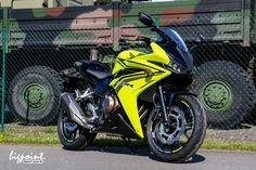 Die neue Honda CBR 500 R in seltener Farbe gelb schwarz. Nur zwei Stück in…