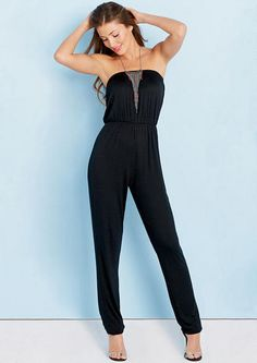 Addie Tube Jumpsuit - View All Dresses - Dresses - Clothing - Alloy Apparel