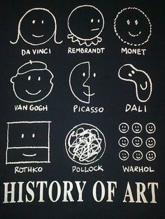 History of Art  @Miranda Gottlieb