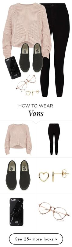 """Very cute, yet simple 49"" by lollypopz951 on Polyvore featuring Miss Selfridge, River Island, Vans and Estella Bartlett"