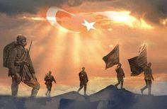 Ben bir Türk'üm dinim, cinsim uludur Sinem, özüm ateş ile doludur İnsan olan vatanının kuludur Türk evlâdı evde durmaz, giderim. Bu topraklar ecdâdımın ocağı Evim köyüm hep bu yurdun bucağı İşte vatan! İşte Tanrı kucağı! Ata yurdun evlât bulmaz, giderim.