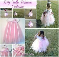 DIY Princess Costume | Tulle Princess Costume and yep…that's MY princess!