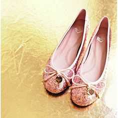Sparkly Sequin Pink Flat Wedding Evening Cocktail Pageant Ball Shoes SKU-1090515