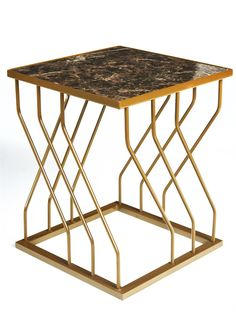 Strin yan sehpa - Home Decor Design Folding Furniture, Iron Furniture, Steel Furniture, Deco Furniture, Table Furniture, Modern Furniture, Furniture Design, Metal Nesting Tables, Stainless Steel Coffee Table