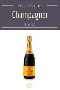 Gehört zu Silvester einfach dazu: ein edler Champagner von Veuve Cliquot!