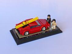 Moc Lego, Lego Tv, Lego Truck, Lotus Esprit, Bond Cars, Lego Military, James Bond Movies, Brick Design, Lego Worlds
