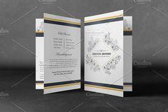 Printable Funeral Program Template - Brochures